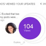 Find out Who is Seeing Your LinkedIn Status Updates