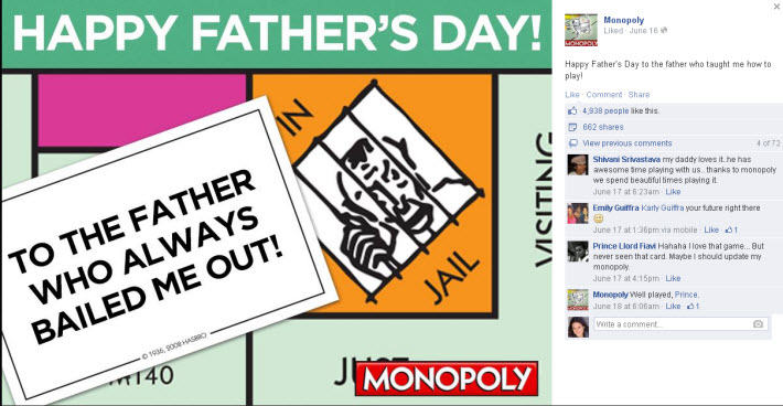 Monopoly Father's Day