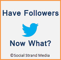 Have Twitter followers, now what?